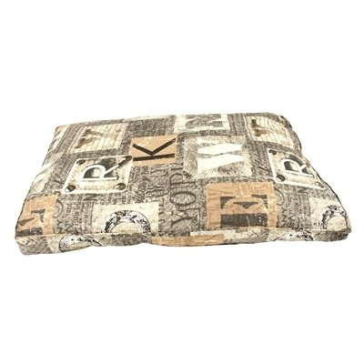 Woefwoef Woefwoef hondenkussen lounge luxe new york taupe