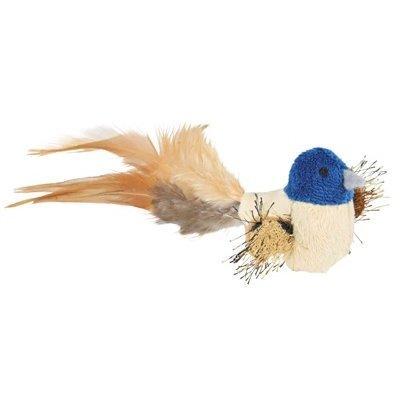 Trixie Trixie vogel met veren pluche