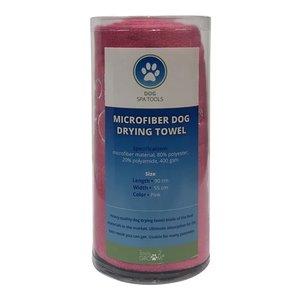 Tools-2-groom Tools-2-groom microvezel handdoek roze