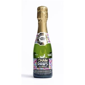 Pawsecco Champaws hondenchampagne