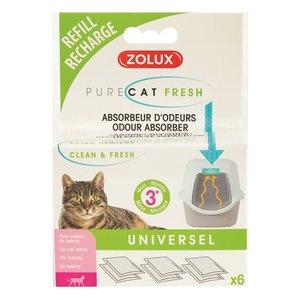 Zolux Zolux clean & fresh universeel filter kattenbak