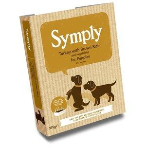 Symply 7x symply puppy kalkoen/rijst
