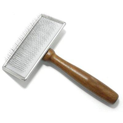 Vivog Vivog borstel zacht rechthoekig met houten handvat