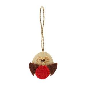Cupid & comet Cupid & comet roodborstje hout knaagspeelgoed
