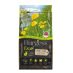 Burgess Burgess excel rabbit adult natures blend