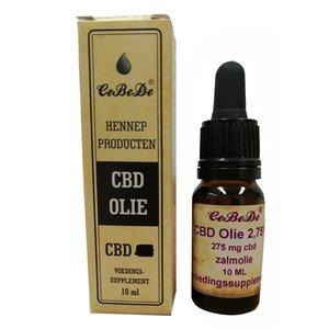 Cebede Cebede cbd olie 2,75% zalm
