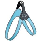 Trixie Trixie pratiko hondentuig step-in pvc / nylon lichtblauw