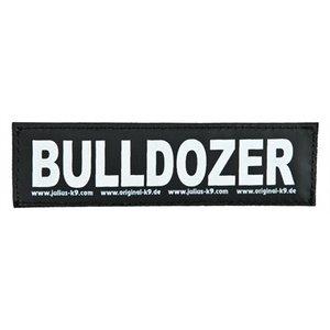Julius k9 Julius k9 labels voor power-harnas / tuig bulldozer