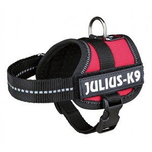Julius k9 Zzzjulius k9 power-harnas / tuig voor labels rood