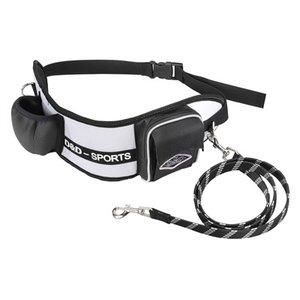 D&d D&d hondenriem sports walker reflecterend wit / zwart