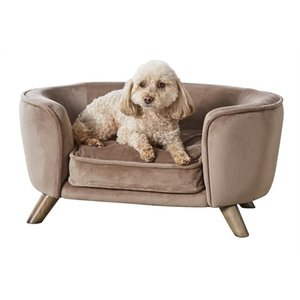 Enchanted pet Enchanted hondenmand / sofa romy stone lichtbruin