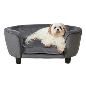Enchanted pet Enchanted hondenmand / sofa coco grijs