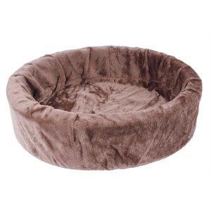 Petcomfort Petcomfort hondenmand bont choco bruin