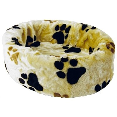 Petcomfort Petcomfort hondenmand bont beige grote poot