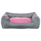 Trixie Trixie hondenmand vitaal junis donkergrijs / roze
