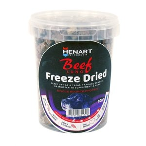 Henart Henart freeze dried beef lung
