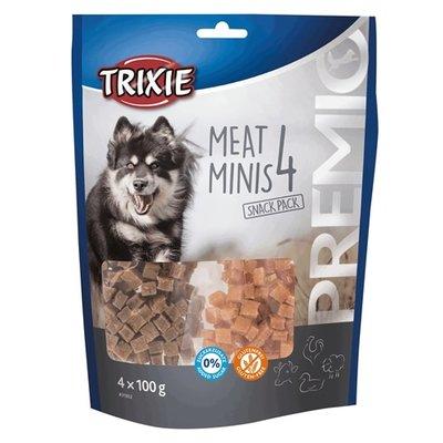 Trixie Trixie premio vlees minis kip / eend / rund / lam
