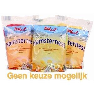 Zoobest Zoobest hamsterwatten eetbaar assorti