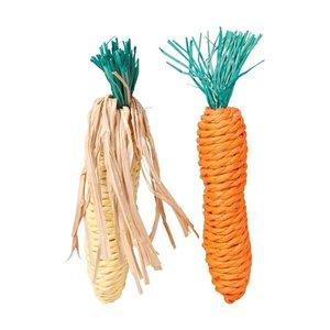 Trixie Trixie wortel en maiskolf met stro