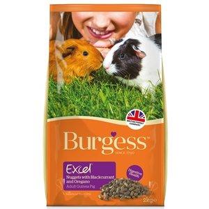 Burgess Burgess excel guinea pig blackcurrant & oregano caviavoer