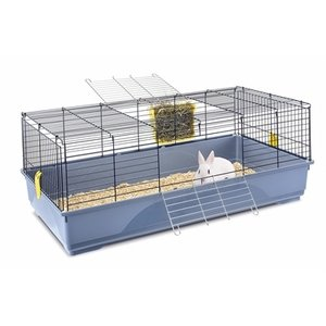 Imac Imac konijnenkooi easy blauw / donkerblauw