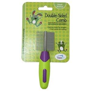 Happy pet Happy pet knaagdier double sided comb