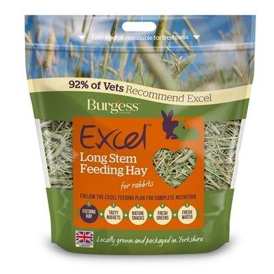 Burgess Burgess excel feeding hay lange stengel