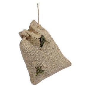Naturals Rosewood naturals jute zak met vulling hooi / kruiden / groenten