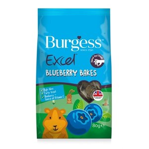 Burgess Burgess excel baked treats blauwe bes