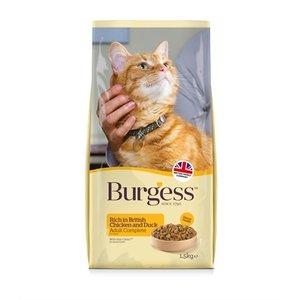 Burgess Burgess cat adult rijk aan kip en eend