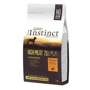 True instinct True instinct high meat medium adult chicken