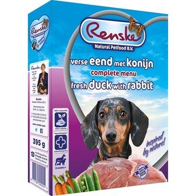 Renske 10x renske vers vlees eend/konijn