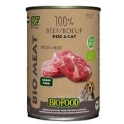 Biofood 12x biofood organic hond 100% rund blik