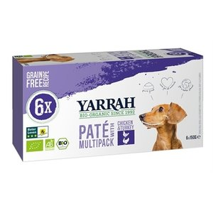 Yarrah Yarrah dog alu pate multipack chicken / turkey