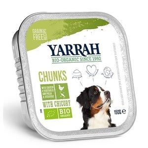 Yarrah Yarrah dog alu brokjes kip / groente met cichorei in saus graanvrij