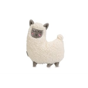 Beeztees Beeztees puppy knuffel lama wit