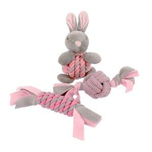 Little rascals Little rascals puppy speelgoed set roze