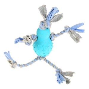 Little rascals Little rascals flostouw pop met fleece blauw