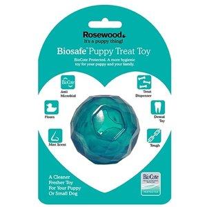 Biosafe Biosafe puppy snack bal blauw