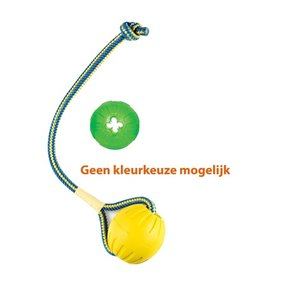 Starmark Starmark swing 'n fling durafoam bal met treat dispensing chew ball