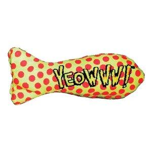 Yeowww Yeowww stinkies catnip sardientje gestipt