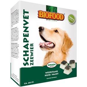 Biofood Biofood schapenvet maxi bonbons zeewier