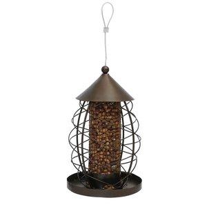 Rosewood Pindahouder vogel lantaarn antiek