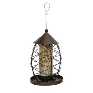 Rosewood Zaadhouder vogel lantaarn antiek