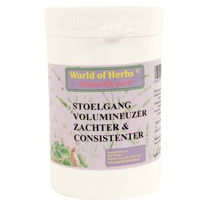 World of herbs World of herbs fytotherapie stoelgang