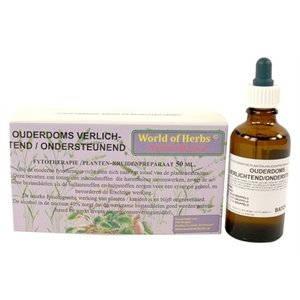 World of herbs World of herbs fytotherapie ouderdom