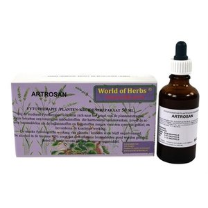 World of herbs World of herbs fytotherapie artrosan