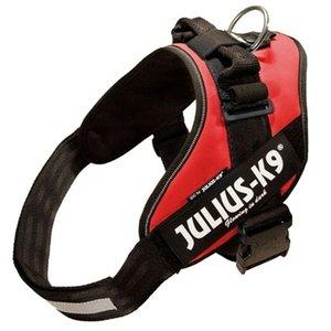 Julius k9 Julius k9 power-harnas/tuig voor labels rood