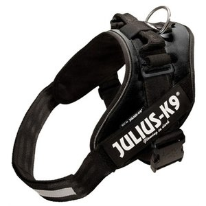 Julius k9 Julius k9 idc power-harnas/tuig voor labels zwart