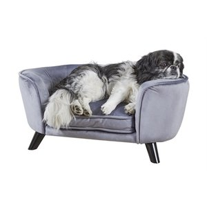 Enchanted pet Enchanted hondenmand / sofa romy pewter grijs